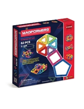 Magformers Rainbow 62 Piece Set by Toys Rus