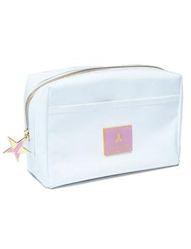 White Glitter Makeup Bag by Jeffree Star Cosmetics