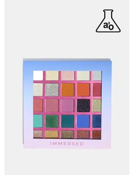 A2o 25 Color Eyeshadow Palette  Immersed by A2o Lab