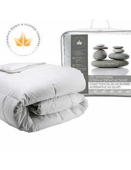 Canadian Down & Feather Company Gel Microfibre Down Alternative Duvet by Costco