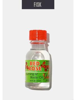 Difeel Burning & Body Oil  Red Rose by Zuri