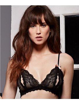 After Midnight Peek A Boo Bralette by Hanky Panky