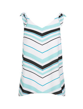 Tie Strap Sleeveless Blouse by Ricki's