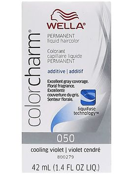 Cooling Violet Color Charm Liquid Permanent Hair Color Additive by Sally Beauty