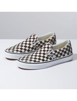 Blur Check Slip On by Vans