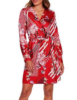 Floral Stripe Dress by Boston Proper