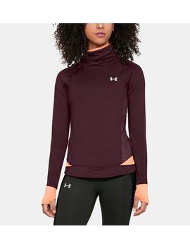 Cold Gear® Reactor Run Funnel Neck Women's Running Long Sleeve Shirt by Under Armour