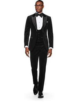 Lazio Black Tuxedo by Suitsupply