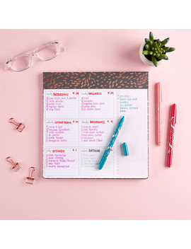 Designer Schedule Pad by Erin Condren