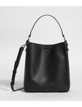 Kathi Small North South Leather Tote Bag by Allsaints