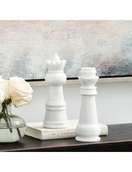 Chess Pieces   Set Of 2 by Ballard Designs