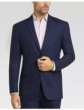 Awearness Kenneth Cole Blue Slim Fit Suit by Mens Wearhouse
