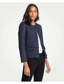 Tall Tweed Jacket by Ann Taylor