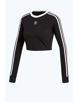 Cropped Long Sleeve Tee by Adidas Originals