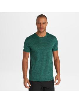 Short Sleeve Marled Performance Tee by G.H.Bass & Co.