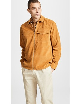One Moleskin Zip Shirt by Schnayderman's
