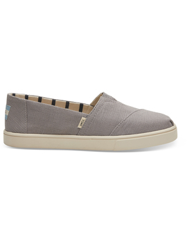 Morning Dove Heritage Canvas Women's Cupsole Alpargatas by Toms