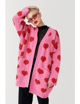 Lazy Oaf All My Heart Cardigan by Lazy Oaf