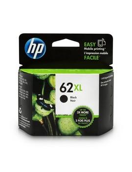 Hp 62 Xl Black High Yield Original Ink Cartridge For Hp Envy 5540, 5643, 5542, 5544, 5545, 5640, 5642, 5660, 5665, 7640, 7645, by Hp