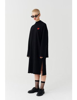 Lazy Oaf Cold Hearted Sweater Dress by Lazy Oaf