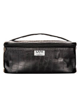 "Black Croc Zipper Case              <Span Class=""Product.Sample.Minicart.Class.Variationdetails""></Span> by Nyx Cosmetics"