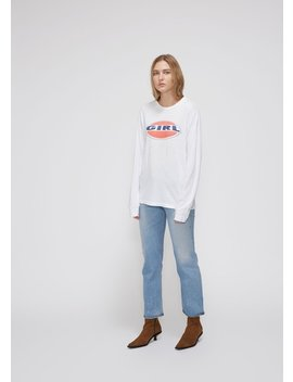 Long Sleeve Girl Tee by Re/Done