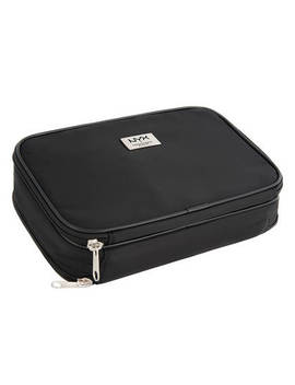"Black Large Double Zipper Makeup Bag              <Span Class=""Product.Sample.Minicart.Class.Variationdetails""></Span> by Nyx Cosmetics"