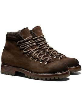 Brown Hiking Boot by Suitsupply