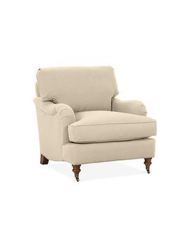 "Brooke Club Chair, Flax Crypton by [""Robin Bruce""]"