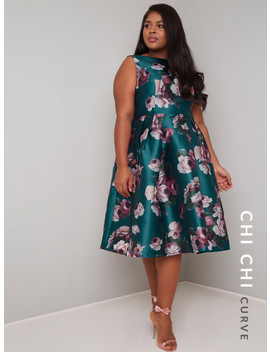 Chi Chi Curve Bryony Dress by Chi Chi London