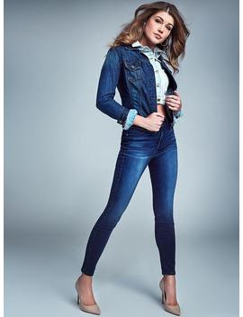 Sexy Curve Mid Rise Jeans by Guess