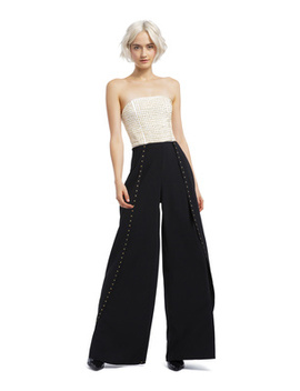 Angelica Studded Jumpsuit by Alice And Olivia