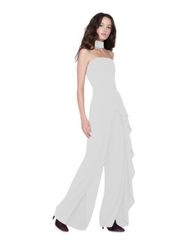 Latonya Ruffled Jumpsuit by Alice And Olivia
