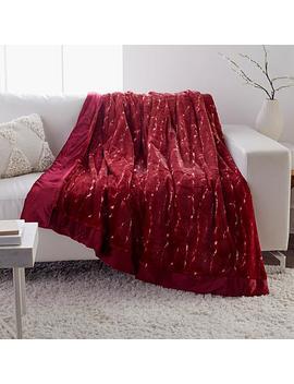 Adrienne Landau Faux Fur Blanket by A By Adrienne Landau