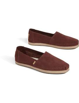 Muskat Suede Women's Classics by Toms