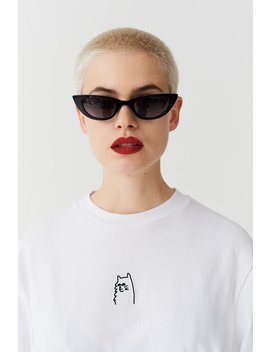 Lazy Oaf I Prefer Cats T Shirt by Lazy Oaf