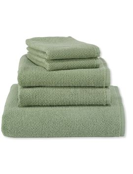 Organic Textured Cotton Towel by L.L.Bean