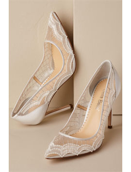 Nadia Scallop Heels by Bhldn