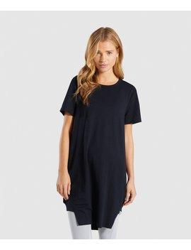 Slounge Crescent T Shirt Dress by Gymshark