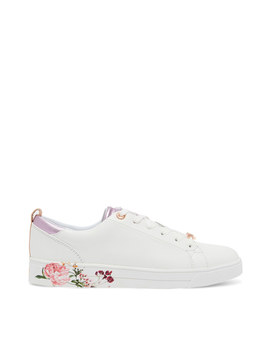 Giellip Lace Up Tennis Trainers by Ted Baker