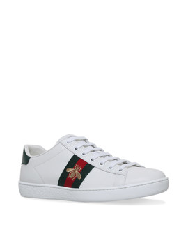 Ace Bee Webbed Trainers by Gucci