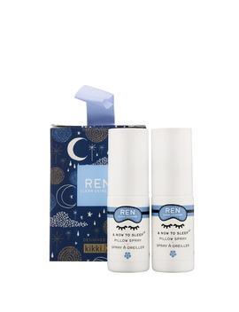&Amp; Now To Sleep Stocking Filler Pillow Spray 2 X 10ml / 0.33 Fl.Oz. by Ren Clean Skincare