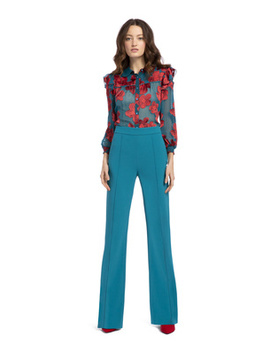 Jalisa Fitted Pant by Alice And Olivia