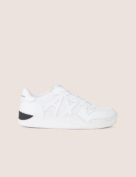 Mesh Logo Low Top Sneaker by Armani Exchange