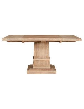 Alfie Pedestal Dining Table, Sandalwood by One Kings Lane
