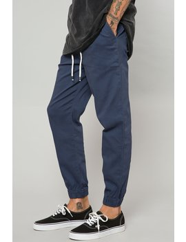Stretch Twill Joggers   4 Pack Mix Colors by Elwood Clothing