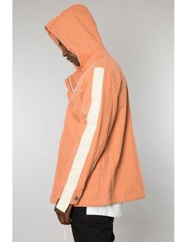 Burnt Orange Denim Parka Jacket by Elwood Clothing