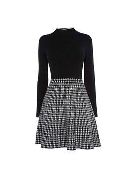 Checked Skirt Dress by Karen Millen