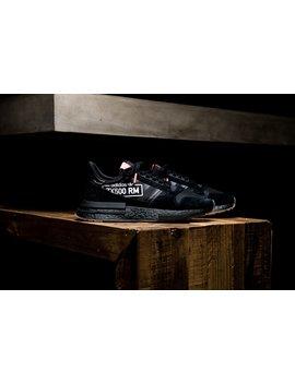 "Adidas Zx 500 Rm ""Alphatype"" Pack   Black by Politics"