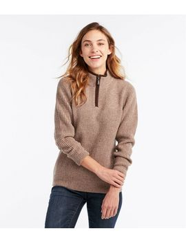 Women's Waterfowl Sweater by L.L.Bean